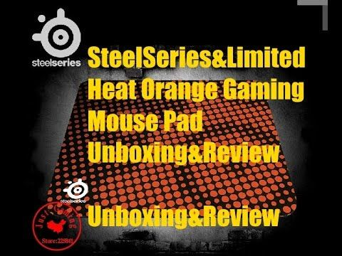 SteelSeries QCK+ Limited Edition Heat Orange Gaming Mouse Pad Review & U...