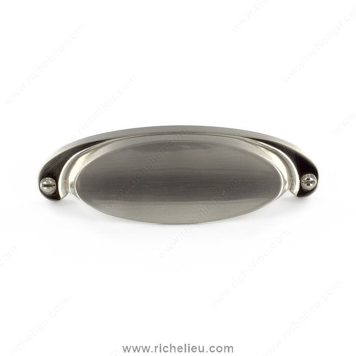 Contemporary Metal Cup Pull - 2106 - BP21064195 - Richelieu Hardware