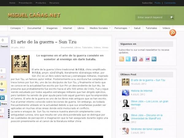 El Arte de la Guerra MiguelCanas.Net