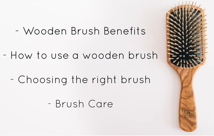 Are You Using The Right Hair Brush? You Must Get The Benefits Of Using A Wooden Brush – Hair In Distress