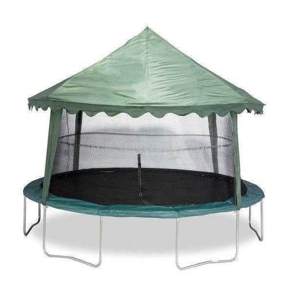 14' Trampoline Canopy - Green