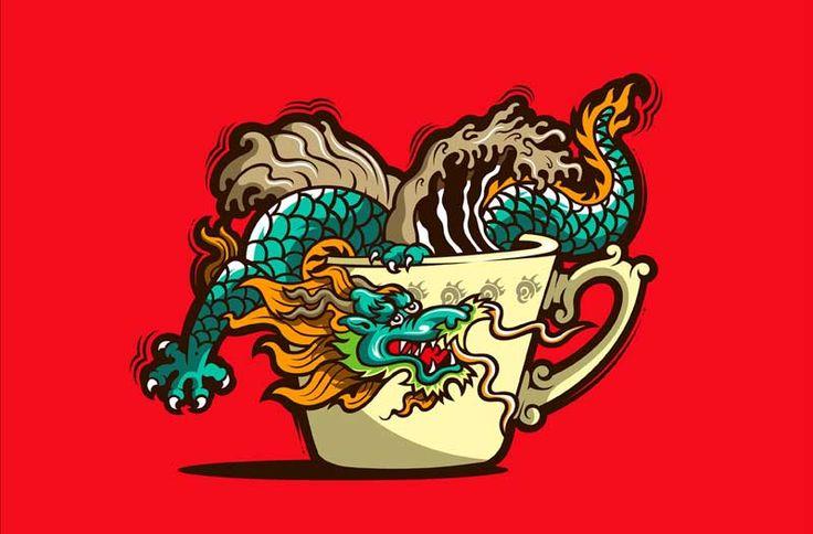 Chinese Coffee by ELMER SOSA.