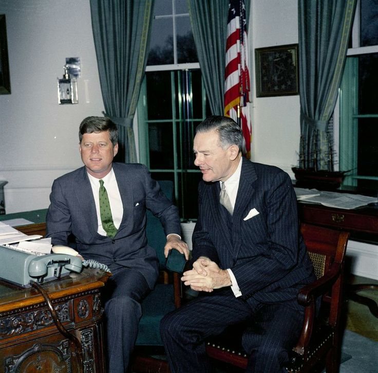 JFK and Henry Cabot Lodge, Jr.