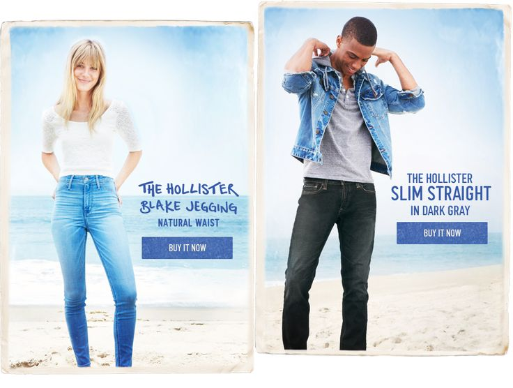 Hollister Co. | So Cal inspired clothing for Guys and Girls