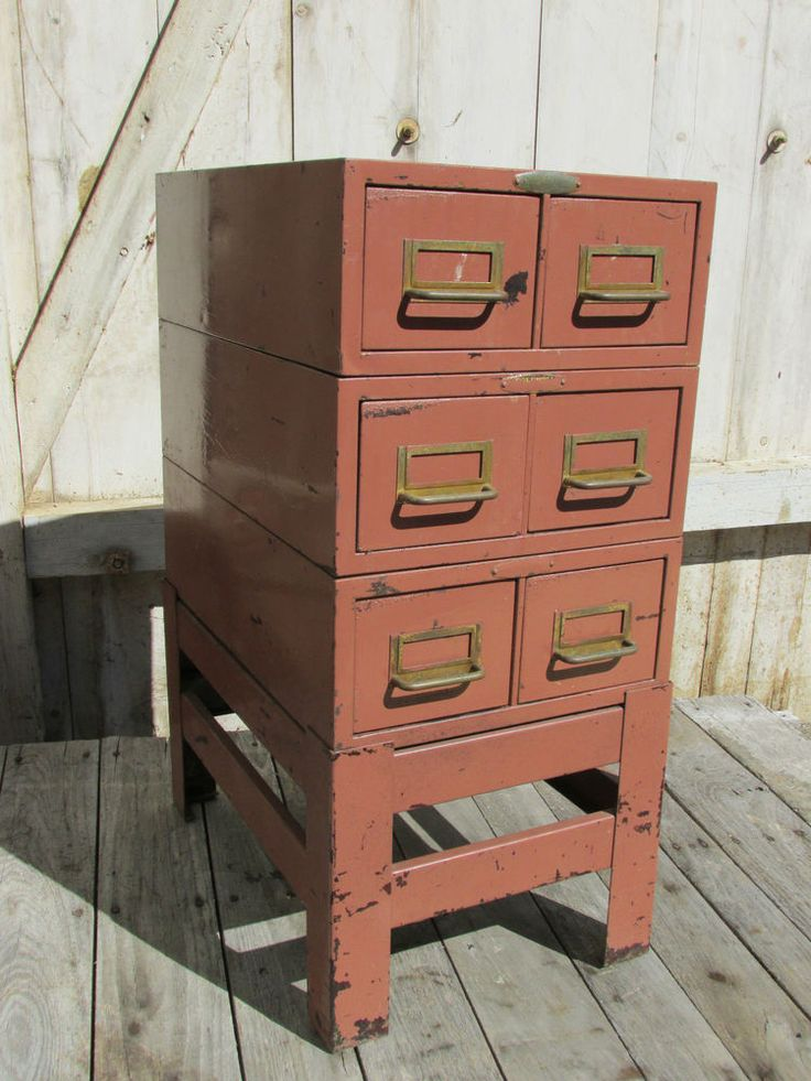 234 best Metal Drawers images on Pinterest | Drawers, Vintage ...