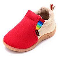 Дэн Руи Сеул хлопковый холст детская обувь обувь малыша весной и осенью для мужчин и женщин младенцев и детей дошкольного возраста обуви сухожилия мягкое дно