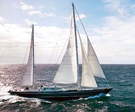 Sailing Yacht for Sale Lurssen built  Marlin Delrey
