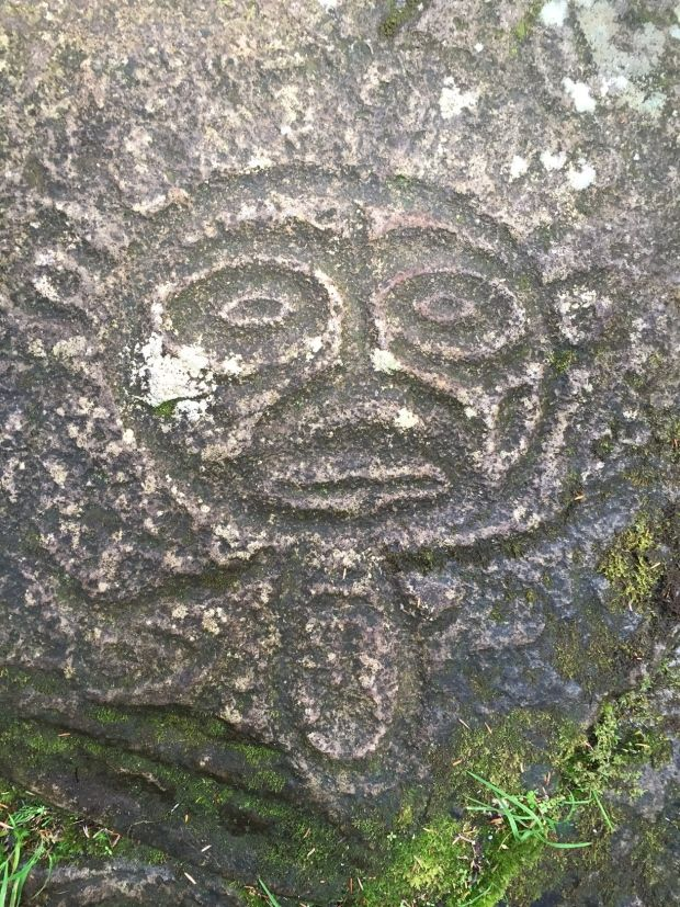 The rock carvings of images from the animal and supernatural worlds, which are located in Thorsen Creek in the Bella Coola Valley, are estimated to be between 5,000 and 10,000 years old