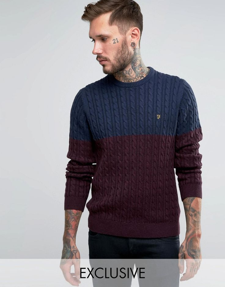 Image 1 ofFarah Jumper with Cable Knit Exclusive