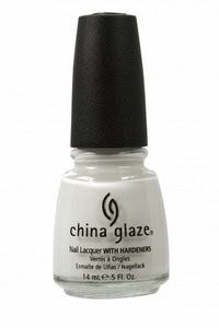 China Glaze- White On White