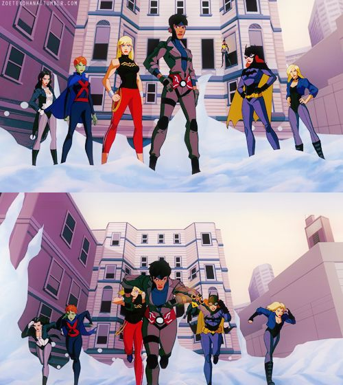 Young Justice Style - Don't mess with the Young Justice girls