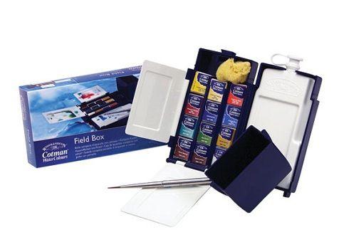 Winsor & Newton Cotman Field Box Suluboya Set 12 Renk