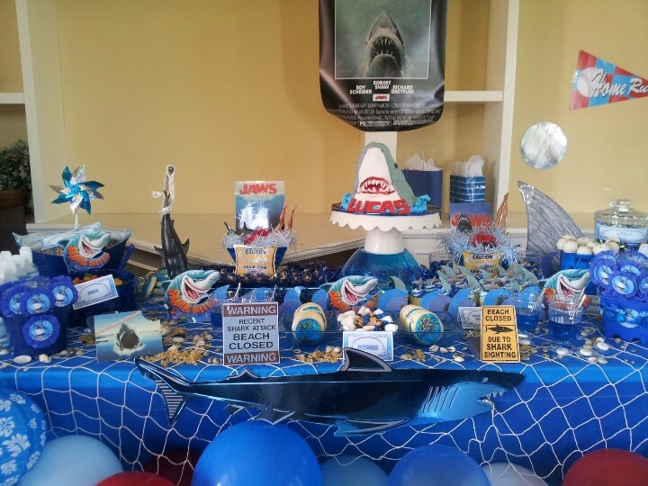 Jaws Birthday Party