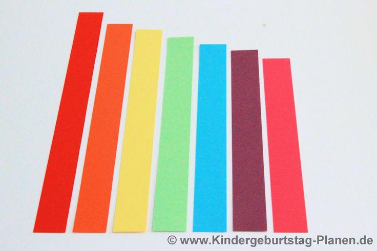 Regenbogen Mobile   Kindergeburtstag-Planen