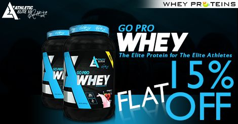 Athletic Elite 10 Go Pro Whey Protein is the Best Muscle Gainer Supplement.