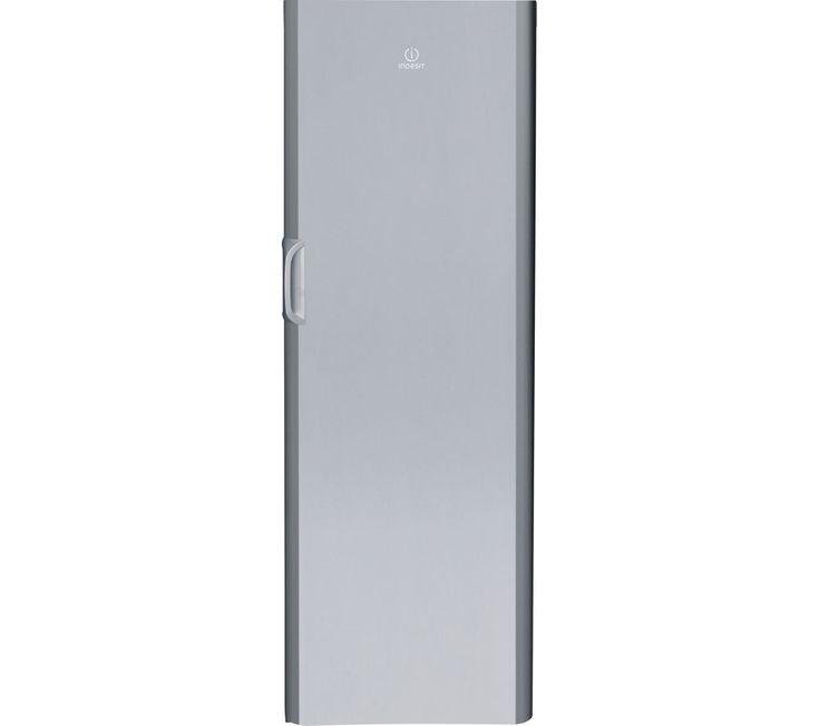 INDESIT UIAA12S Tall Freezer - Silver, Silver