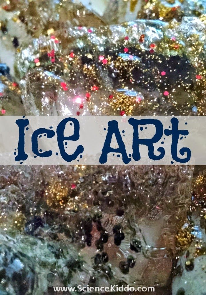Create incredible ice art sculptures using salt and liquid watercolors. A little bit art and a little bit science, this is an activity you definitely don't want to miss with your kids!