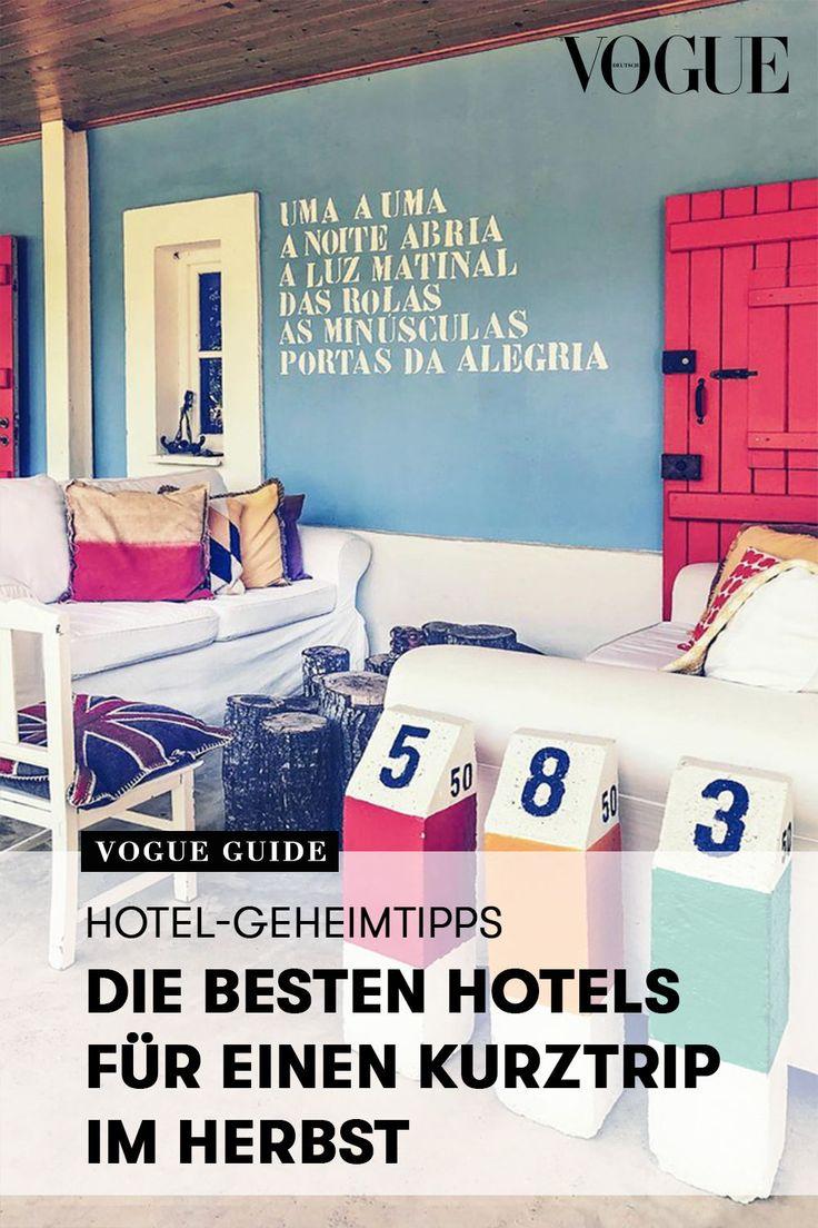 Hidden Gems HotelGeheimtipps für den perfekten Kurztrip