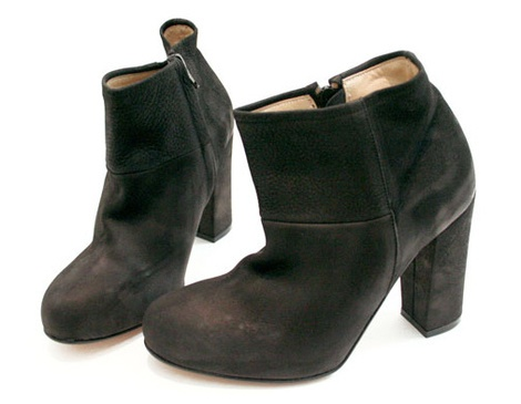 Boot Style Shoes With Heels