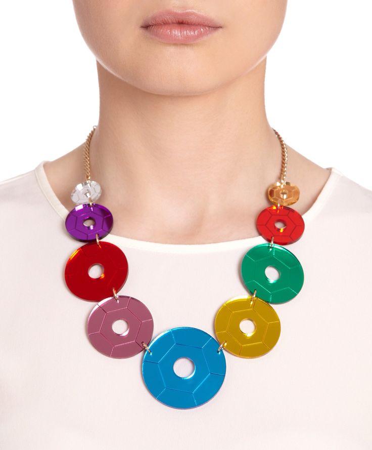 Tatty Devine sequin statement necklace