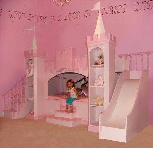 32 Dreamy Bedroom Designs For Your Little Princess: Make Your Children's Bedroom Larger Using Bunk Beds