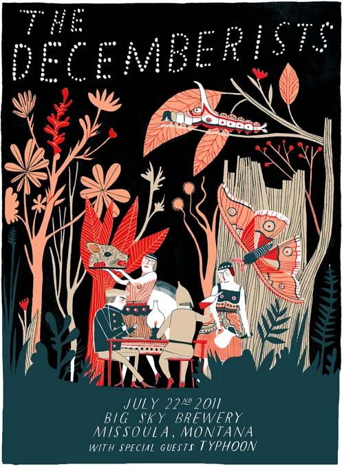 i love carson ellis' illustrations. and the decemberists.