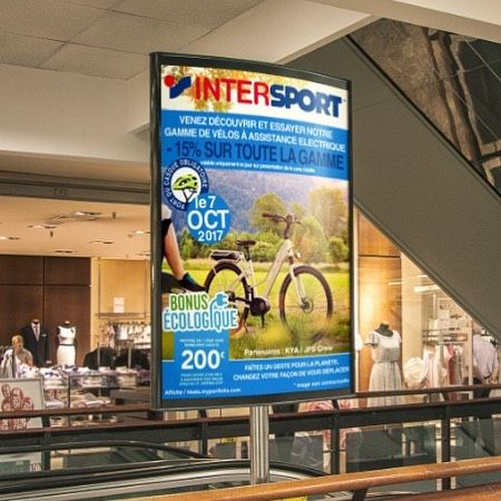 #Affiche /  #Poster  HD on  : hkats.myportfolio.com  #intersport #cycle #electriccycle #bike #electricbike #poster #blue #greeneffect #ecosysteme #ecologie #savetheplanet #ecology #planet #casque #intersport #partner #greenday #sport #velo #greenenergy #running #green #protect #earth