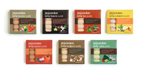 Jejumam - Authentic Sausage Brand via @The Dieline