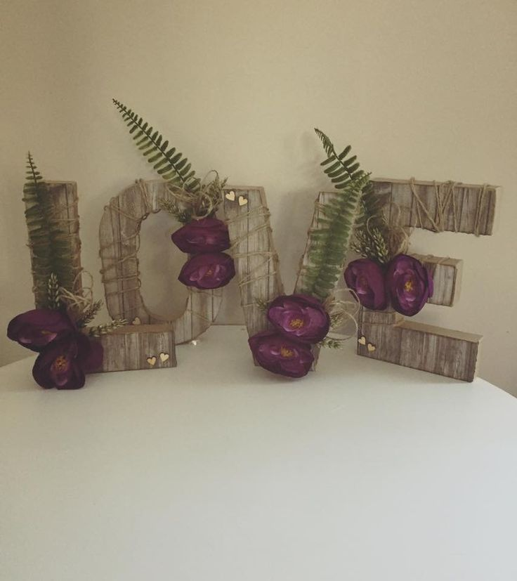 Handmade rustic love letters with wood paper and paper mache