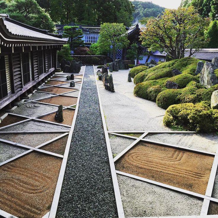 todays awakening fukuchiin koyasan japan zen garden