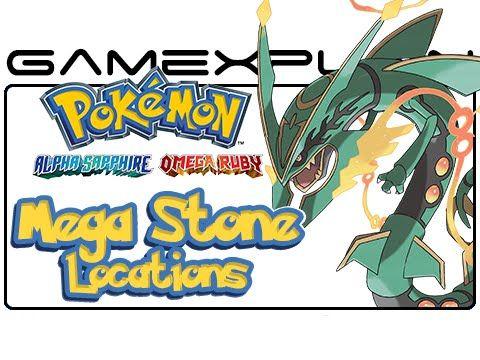 All Mega Stone Locations in Pokémon Omega Ruby & Alpha Sapphire - Guide & Walkthrough - http://freetoplaymmorpgs.com/pokemon-omega-ruby-and-alpha-sapphire/all-mega-stone-locations-in-pokemon-omega-ruby-alpha-sapphire-guide-walkthrough