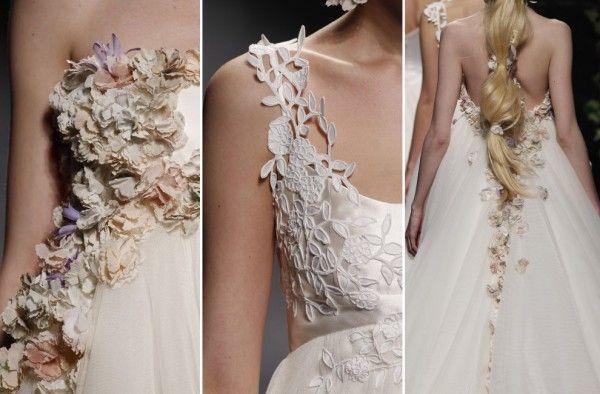 Модные свадебные платья для беременных 2014, фото