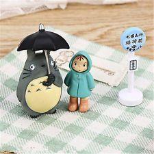 Totoro Figurine Japanese Collection Kids Cartoon Toys Studio Ghibli My Neighbor