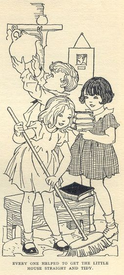 The Enchanted Wood by Enid Blyton- illustration by Dorothy E. Wheeler