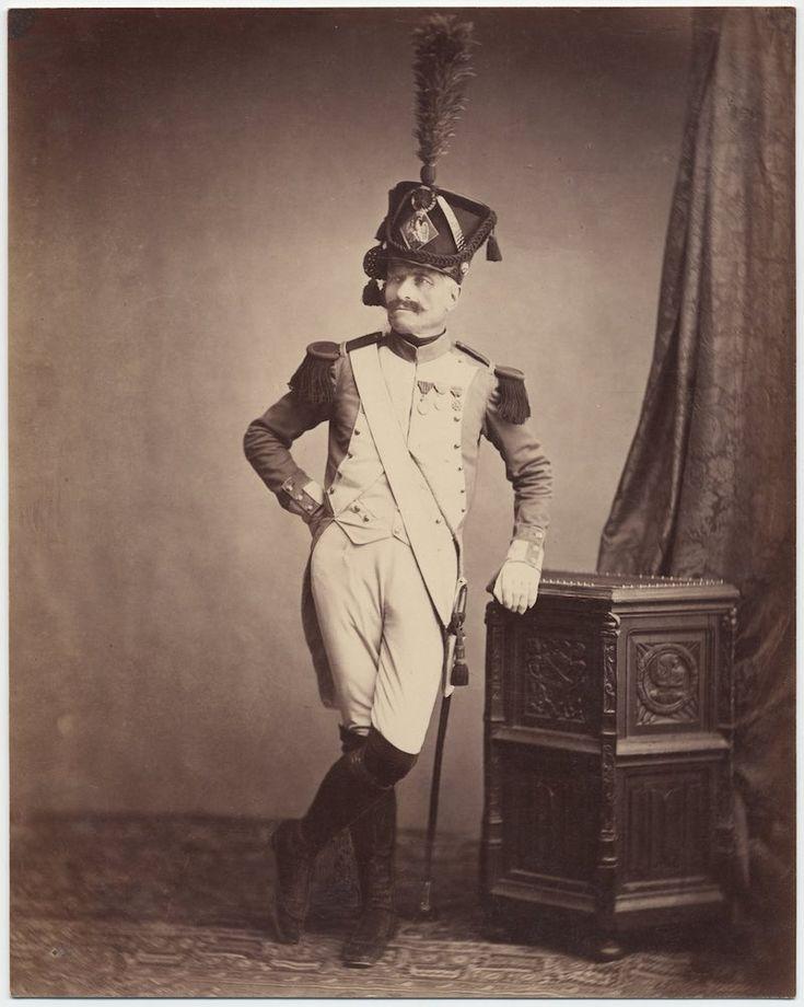 Monsieur Vitry, Departmental Guard // c. 1858: Photos of Veterans of the Napoleonic Wars