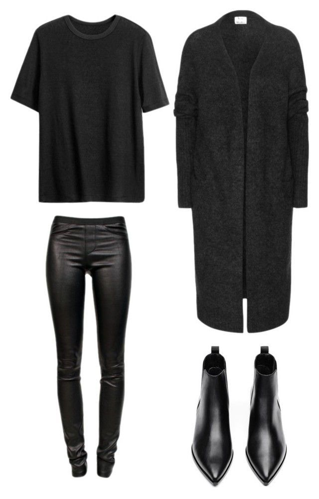 """All black"" by trendsy on Polyvore"