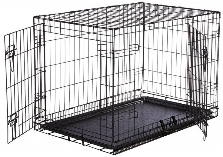 Life Stages Double Door Folding Dog Crate ($58.99)