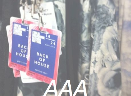 #AAA #backstagepass
