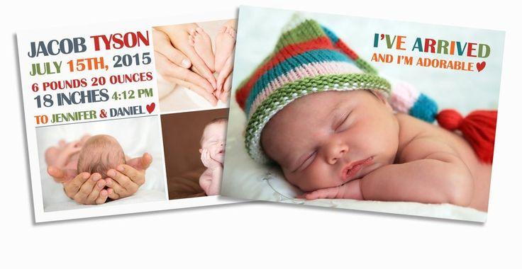 28 best Birth Announcements  Adoption images on Pinterest Birth