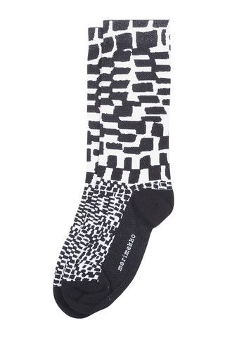 Mette Socks Black/White