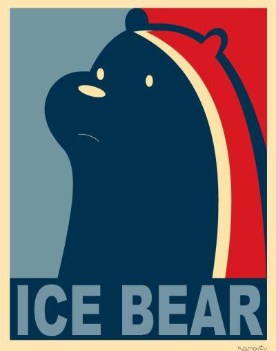 Ice Bear for president