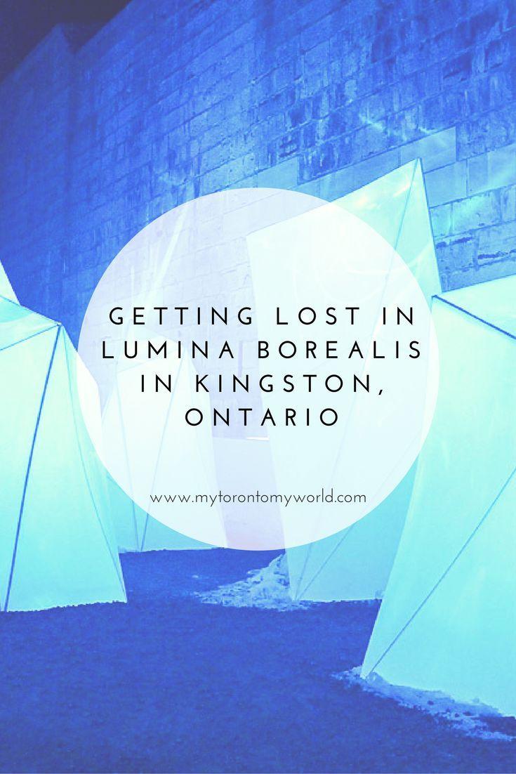 Visiting THE winter event in Kingston, Ontario - Lumina Borealis