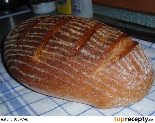 Bramborovo-pšenično-žitný chleba  / kváskový / pro pekárnu