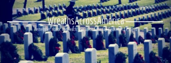 Volunteer or Donate for Wreathes Across America~Honoring our Fallen Soldiers
