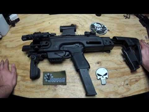 CAA RONI Glock Pistol-Carbine Conversion (Airsoft) (G23)