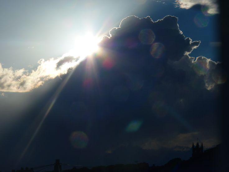 Cloud from window,Queensbury UK
