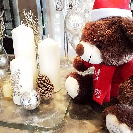 It's the most beautiful time of the year  Do you wish to see this Sheraton Christmas Teddy Bear?