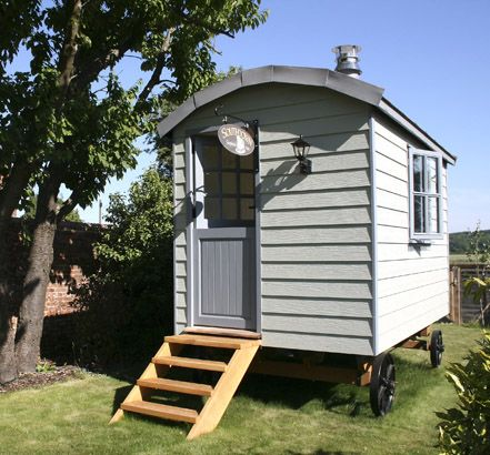 Homeowners looking for a touch of luxury in their garden need look no further than a Southdown Shepherds' Hut manufactured using Marley Eternit's Cedral Weatherboard.
