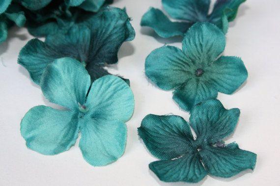 Silk Hydrangeas  OVER 30 Silk Hydrangea Blossoms in by simplyserra, $3.99