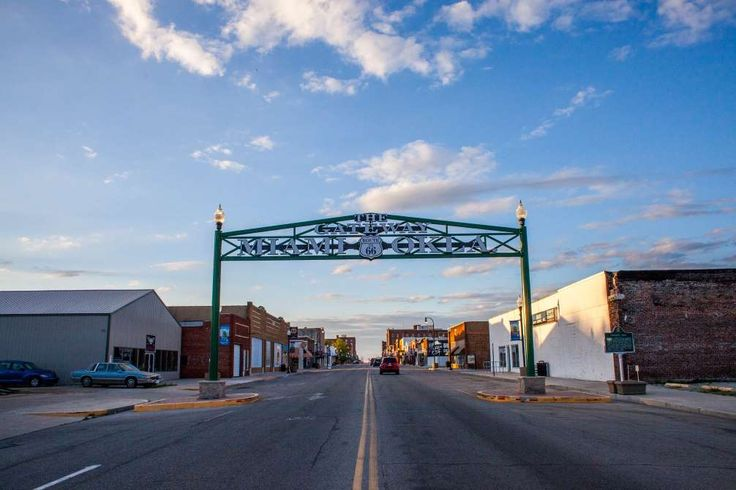 Get your kicks on Route 66 as you tool along on the largest drivable stretch of what is perhaps the ... - Courtesy Lori Duckworth/Oklahoma Tourism